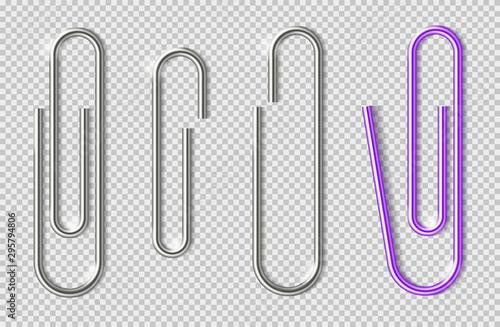 Paper clips Canvas Print