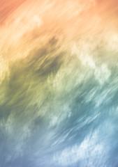 Fototapeta Minimalistyczny Amazingly gentle abstract background with a feeling of warmth, harmony and joy. Warm pastel colors.