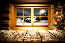 Christmas Window And Free Spac...