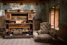 Une Salle Abandonnée Avec Un ...