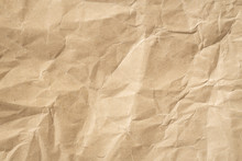Recycle Brown Paper Crumpled T...