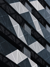 Steel Facade Modern Building M...
