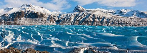 Svinafellsjokull glacier, Skaftafell National Park, Southern Iceland, Iceland, Europe