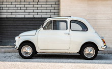 Small Italian Vintage Car.