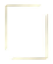 Vector Of Christmas Simple Gold Border