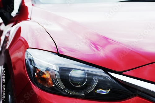 Obraz 自動車 ヘッドライト - fototapety do salonu