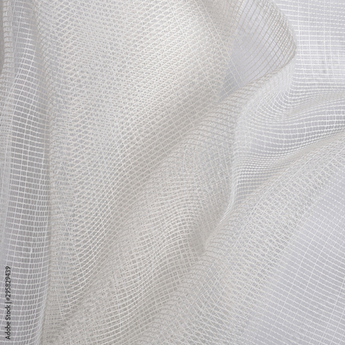 Fotografie, Obraz organza nylon chiffon lightweight air curtain fabric texture