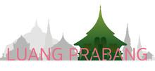 Luang Prabang, Laos Skyline La...