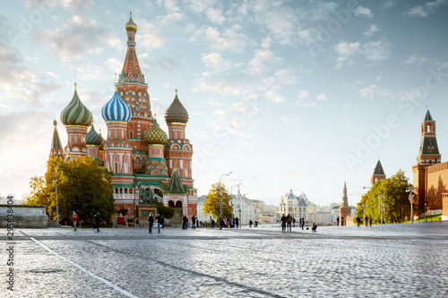 Fototapeta Red Square in Moscow city, Russia