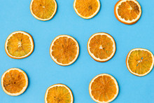 Christmad, Winter And Citrus C...