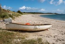 Par Beach St Martins Cornwall England Uk