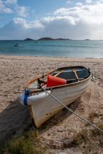 Par Beach Isles Of Scilly Cornwall England Uk