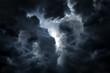 Leinwanddruck Bild - Dramatic Clouds Background