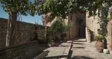 Alley Of The City Of Assisi Wi...