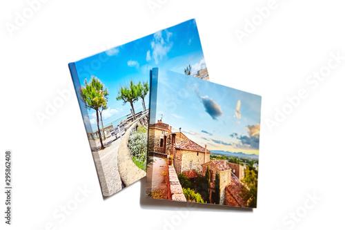 Fototapeta Canvas photo prints isolated on white background