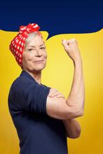 Senior Rosie Riveter Concept: ...