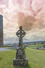 Celtic Cross Of Rock Of Cashel
