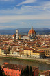 View of the city of Florence, Italy