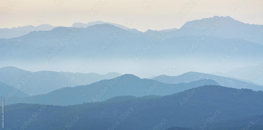 Fototapety, obrazy: Mysterious Mountains