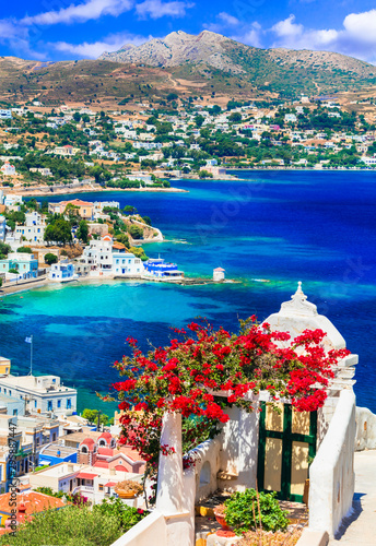 Wonderful traditional Greece - beautiful Leros island in Dodekanese