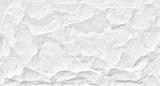 Fototapeta Kamienie - White stone grunge background, rough rock wall texture
