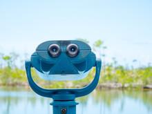 Coin-operated Binoculars In No Name Key, Florida