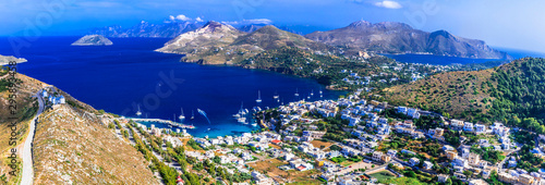Travel in Greece - wonderful scenic Leros island in Dodekcnese