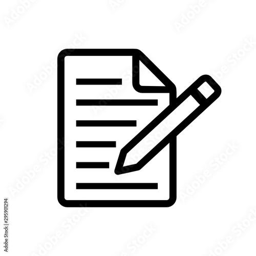 Obraz notatka ikona - fototapety do salonu