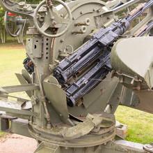 Old Anti Aircraft Gun Controls