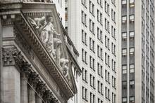 Detail Of The New York Stock E...