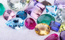 Collection Mix Colorful Of Gem...