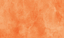 Warm Autumn Orange Marbled Tex...