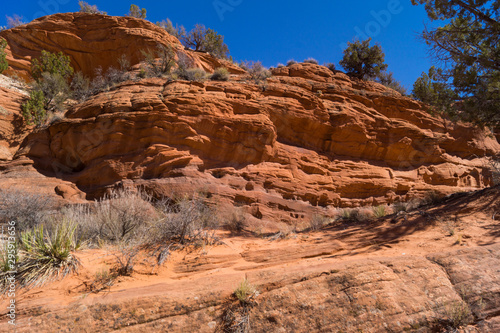 Red Rocks and Blue Sky in American West