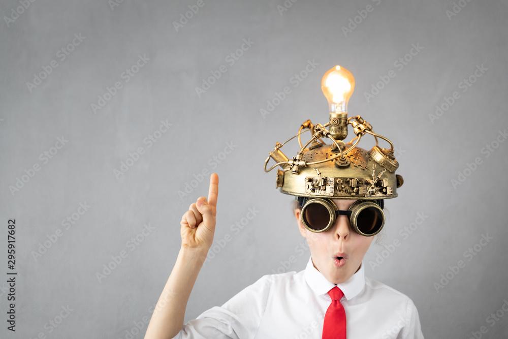 Fototapeta Education, start up and business idea concept