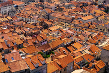 Red Roofs On Old Stone Houses ...
