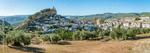 Photo Panoramic sight in Montefrio, beautiful village in the province of Granada, Andalusia, Spain