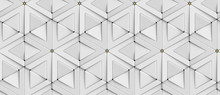 Wallpaper Of 3D Tiles White Rh...