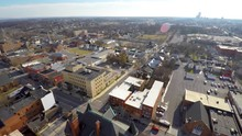 Turning Aerial View Of Neighbo...