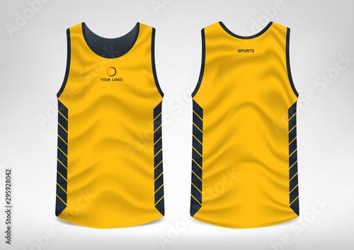 Photographie Sleeveless Sport T-shirt Design