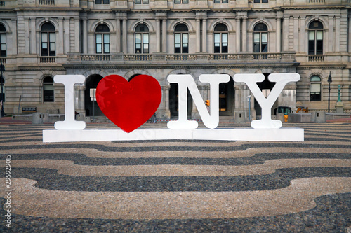 I love New York Fototapet
