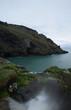 Cliffs at Tintagel North Cornish Coast