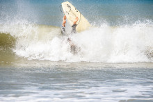 Surfer Fail Nosedive Also Known As Pearling