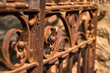 Beautiful Rusty Iron Filigree ...