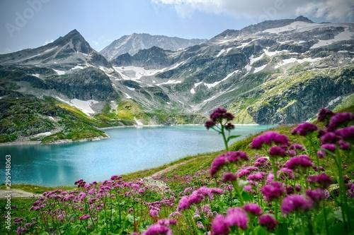 Fototapeta Weißsee Gletscherwelt Österreich obraz