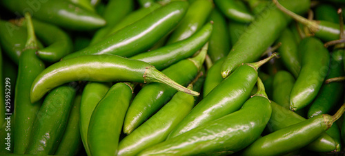 Fresh Green Jalapeno Peppers