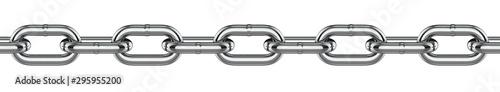 Metal chain links Fototapete
