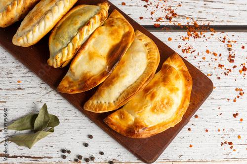 Fényképezés empanadas comida argentina