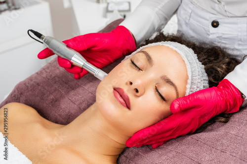 beautiful-woman-receiving-microneedling-rejuvenation-treatment-mesotherapy