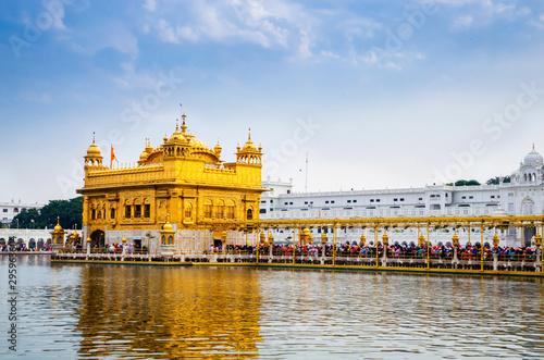 Photo  Golden Temple in Amritsar, Punjab, India.