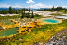 West Thumb Geyser Basin, Yellowstone National Park, Wyoming